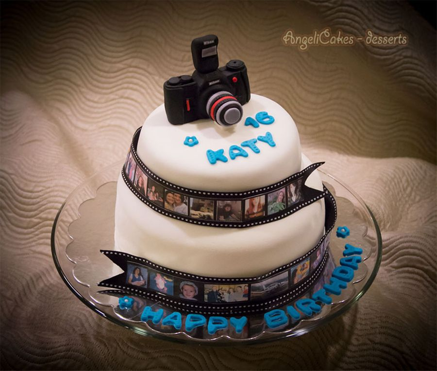 Photographer s cake for Angelica cake decoration