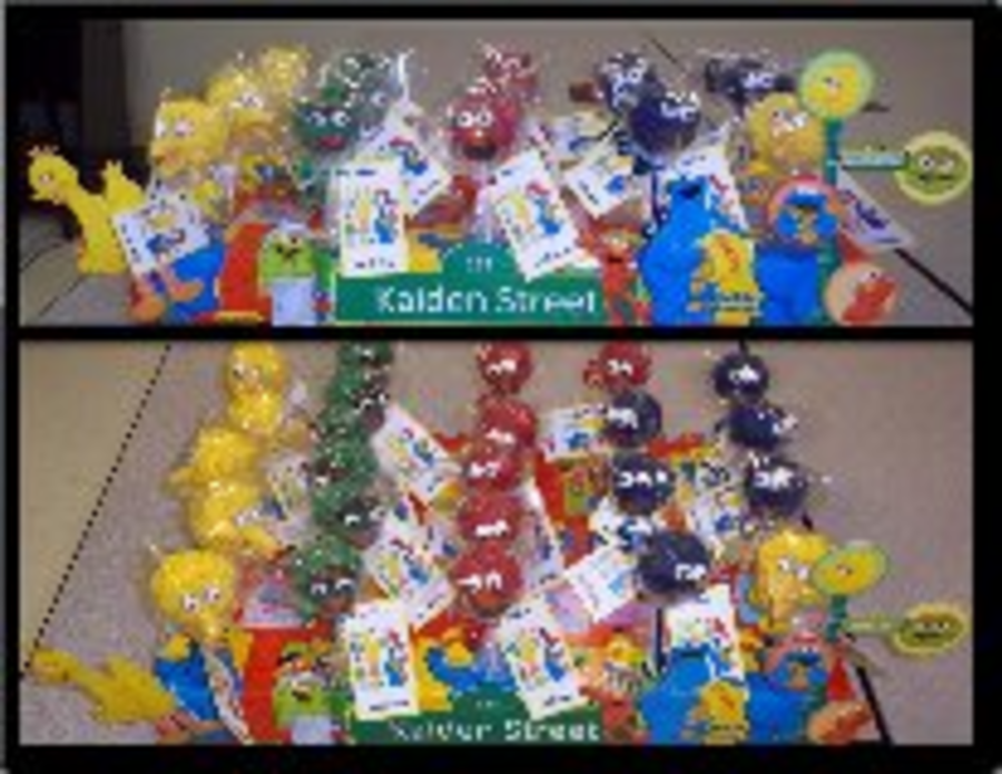 Sesame Street Cake Pops  on Cake Central