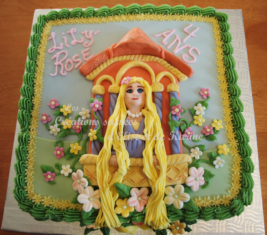 Rapunzel  on Cake Central