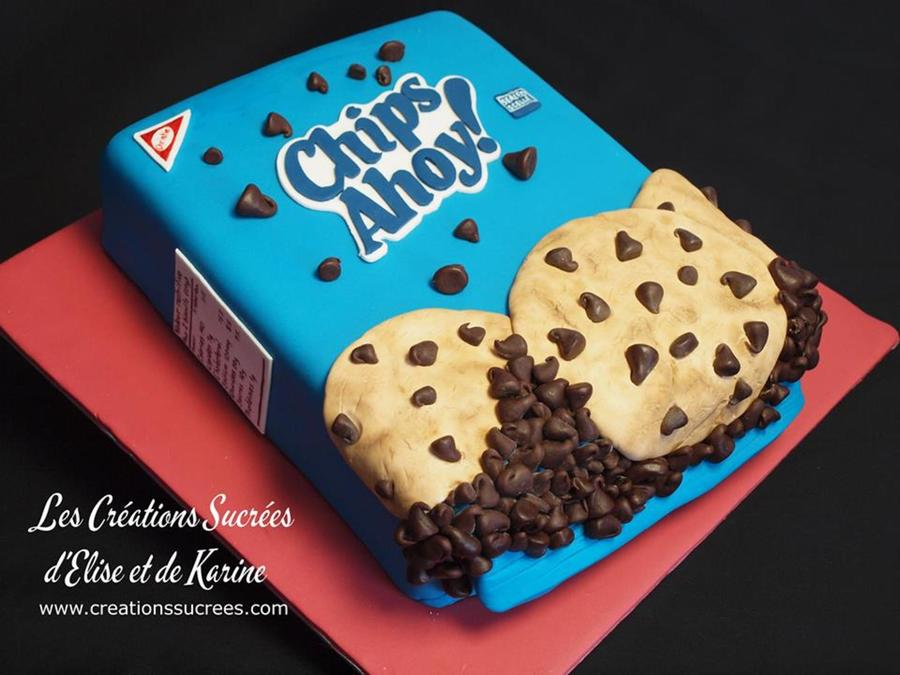Fantastic Chips Ahoy Cake Cakecentral Com Funny Birthday Cards Online Fluifree Goldxyz