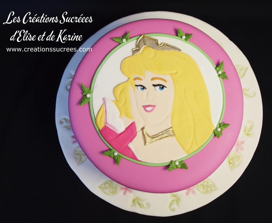 Aurora Sleeping Beauty on Cake Central