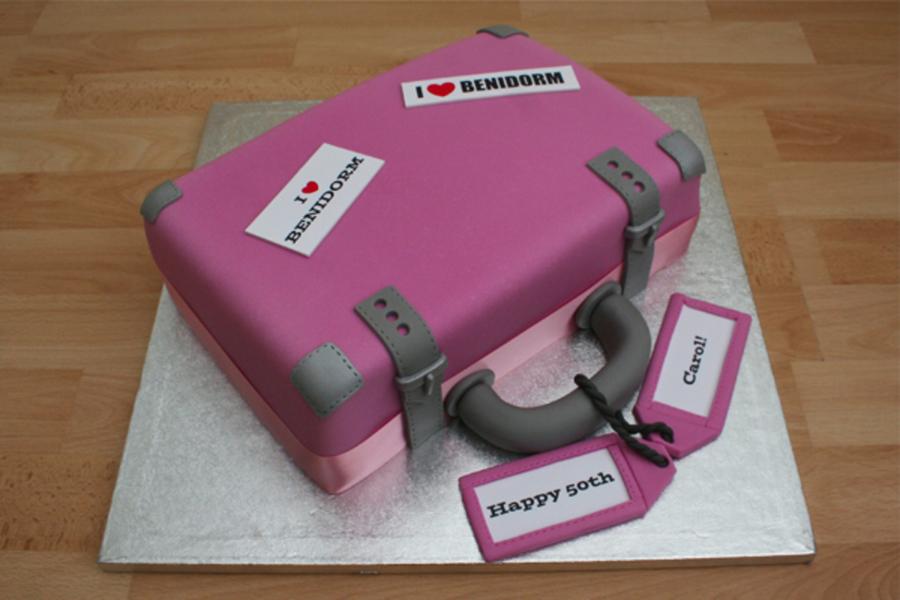 Suitcase Cake - CakeCentral.com