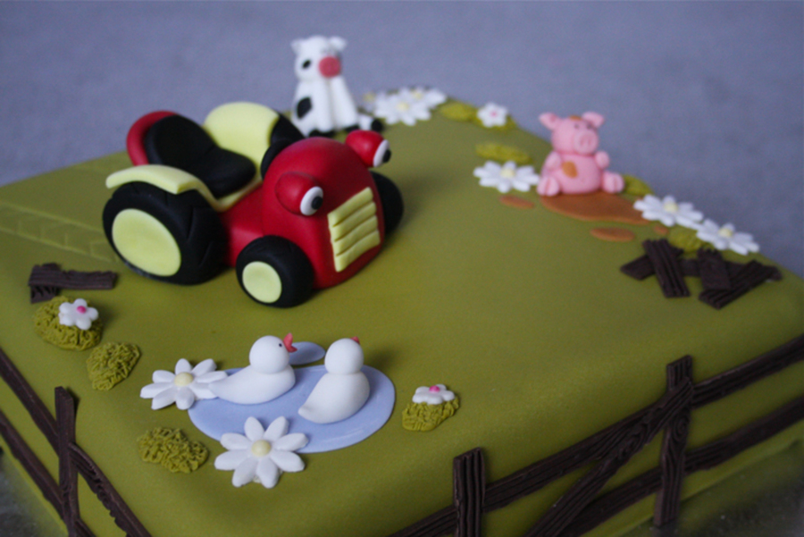 Tractor Tom Cake on Cake Central