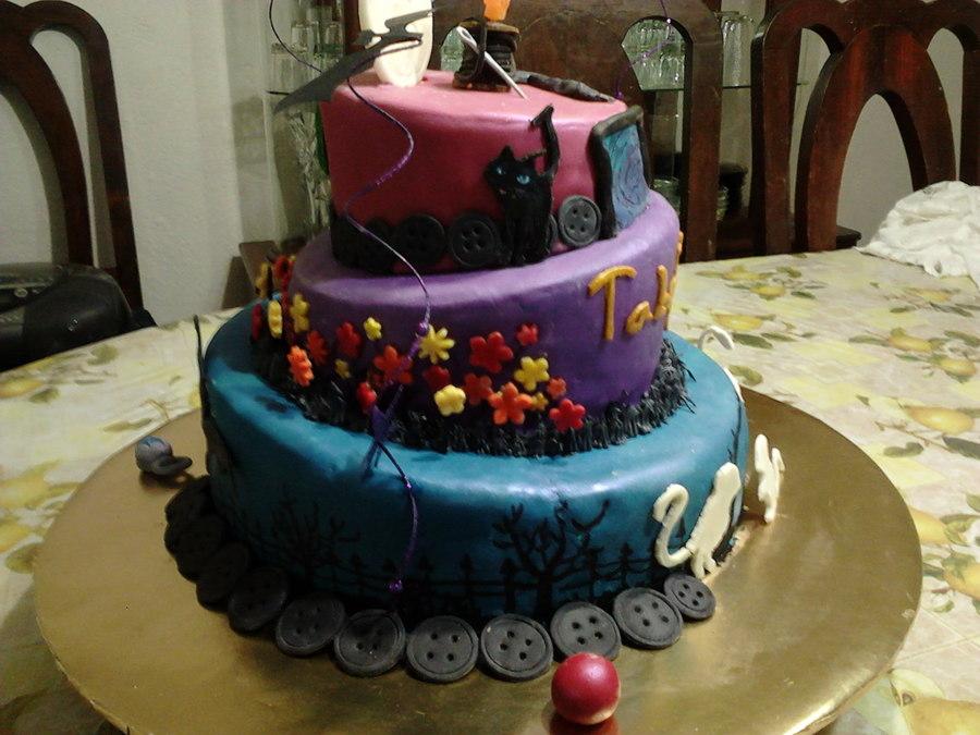 Stupendous Coralines Cake Cakecentral Com Funny Birthday Cards Online Inifodamsfinfo