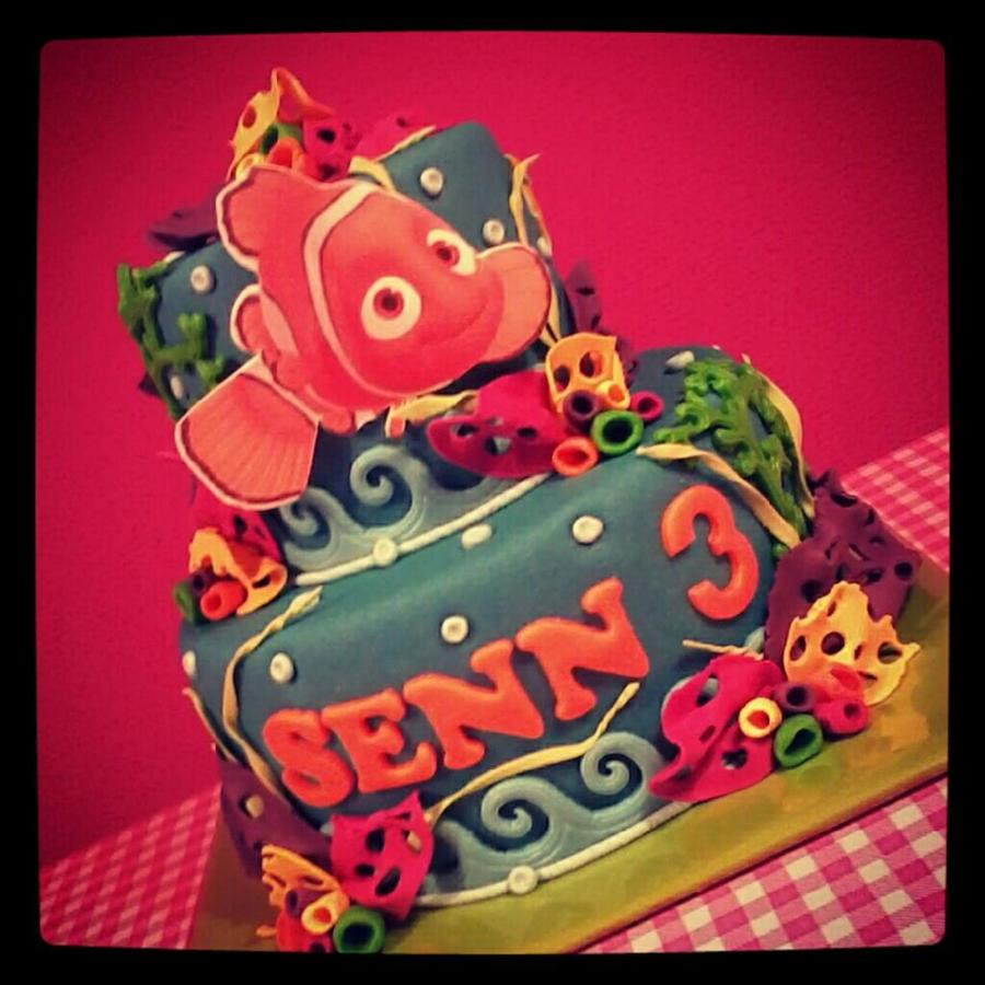 Finding Nemo on Cake Central