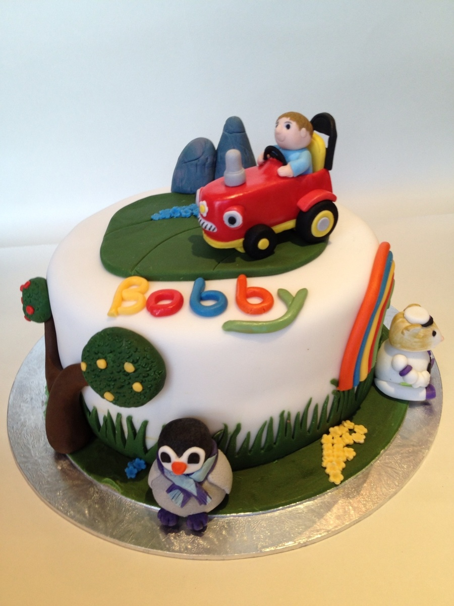 Baby Jake Themed 1St Birthday Cake CakeCentralcom