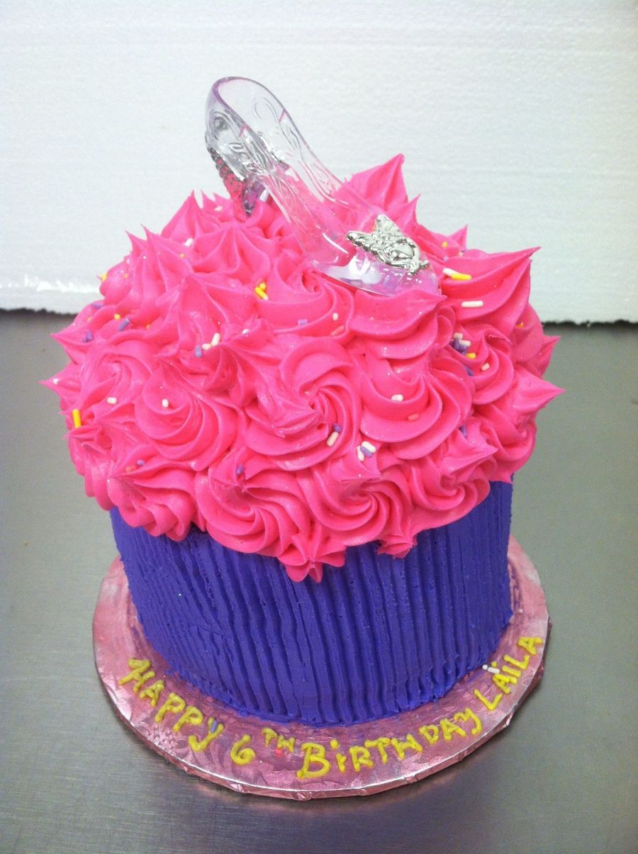 Cinderella Giant Cup Cake on Cake Central