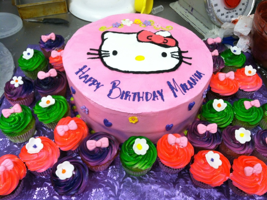 I Love Hello Kitty on Cake Central