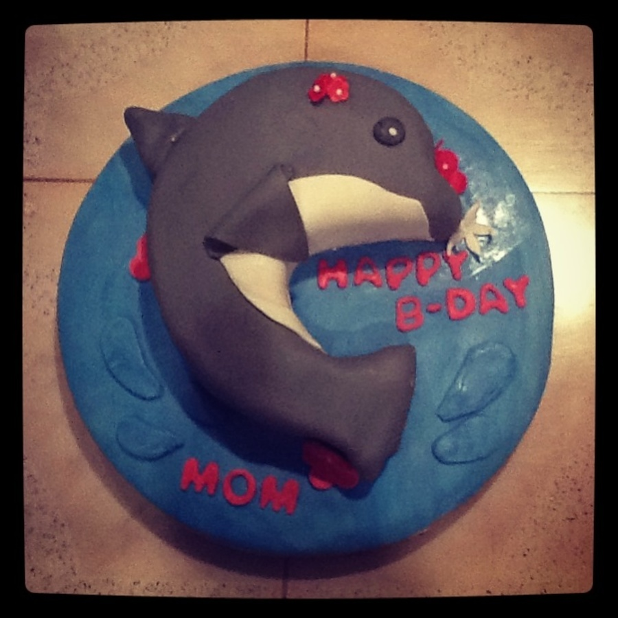 Dolphin Cake on Cake Central