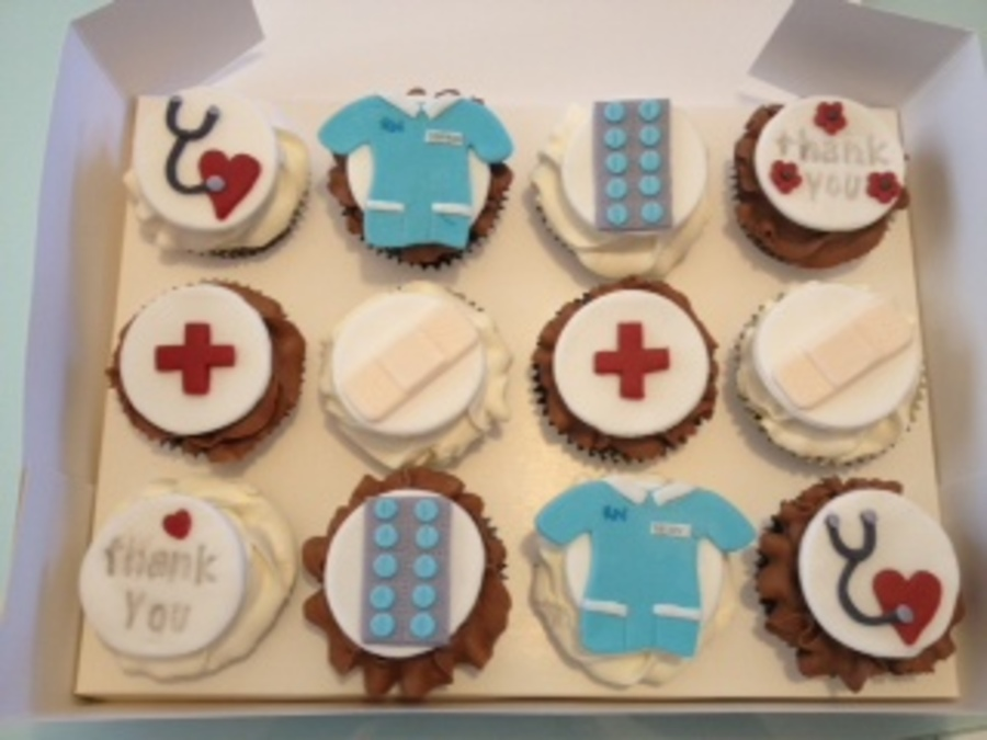 Hospital Cupcakes on Cake Central