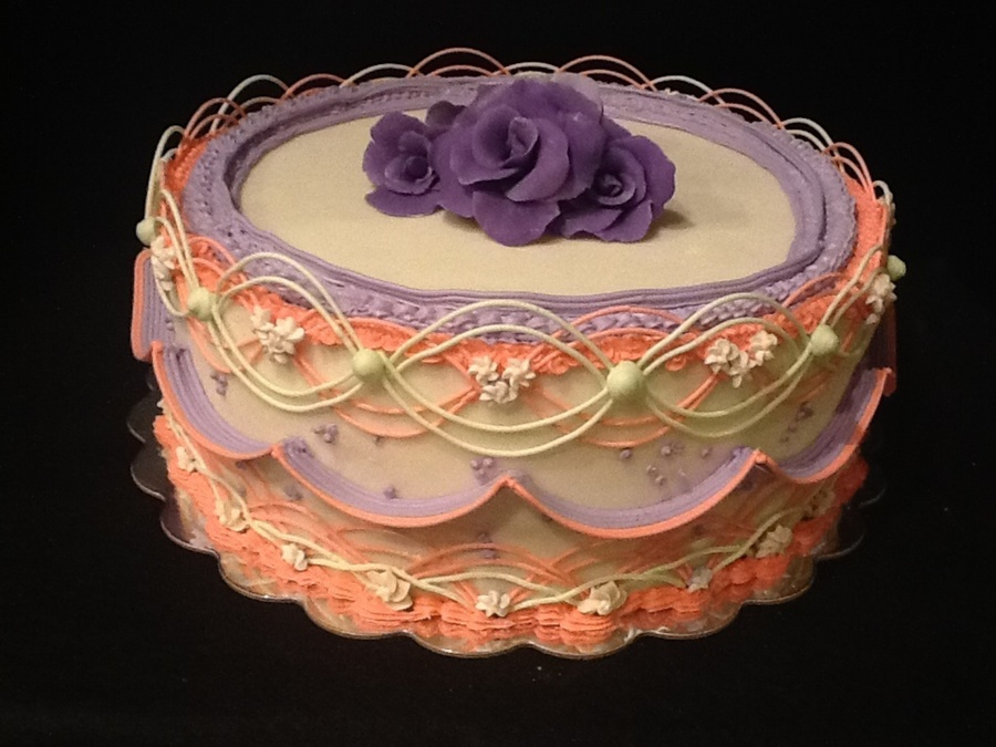 Light Fruit Cake With Marzipan And Royal Icing on Cake Central
