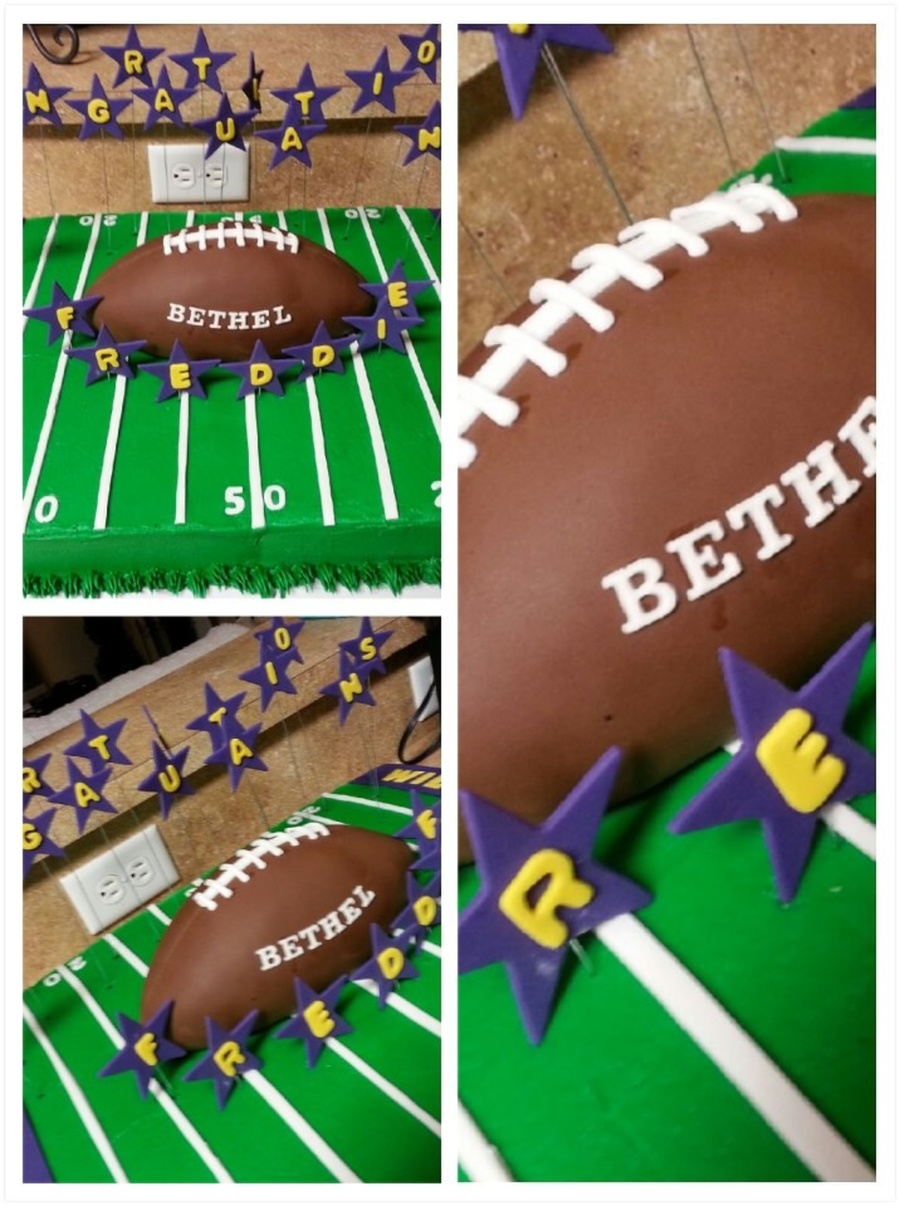 Bethel Wildcats Football Cake on Cake Central
