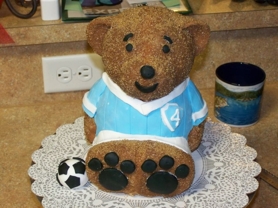 My First Build A Bear Cake on Cake Central