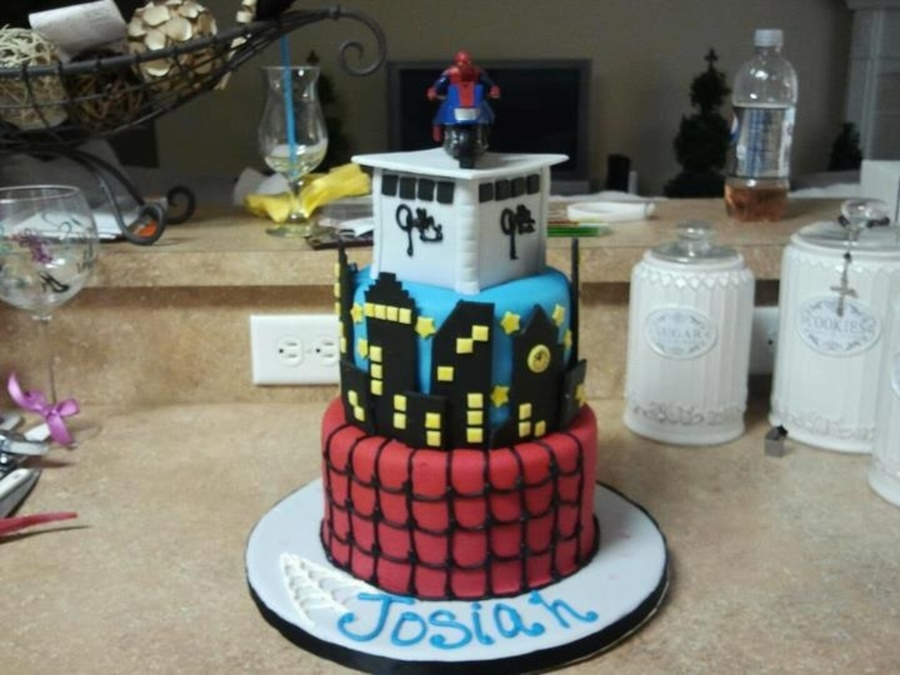 Spider-Man Cake on Cake Central