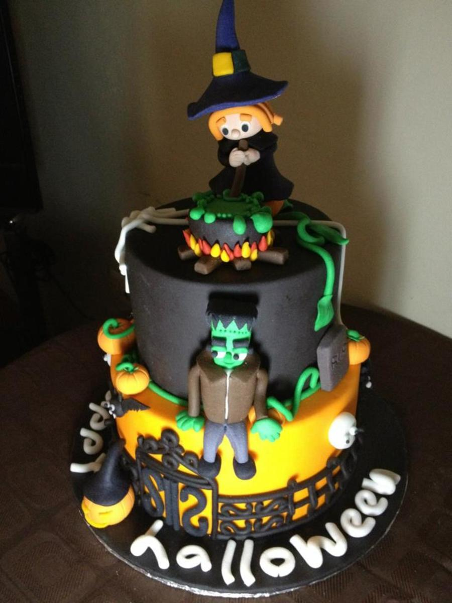 Witch And Franky on Cake Central
