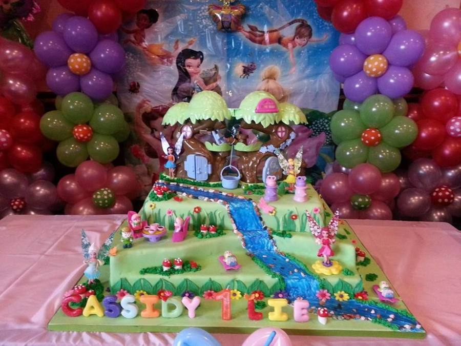 Tinkerbell And Friends Cake on Cake Central
