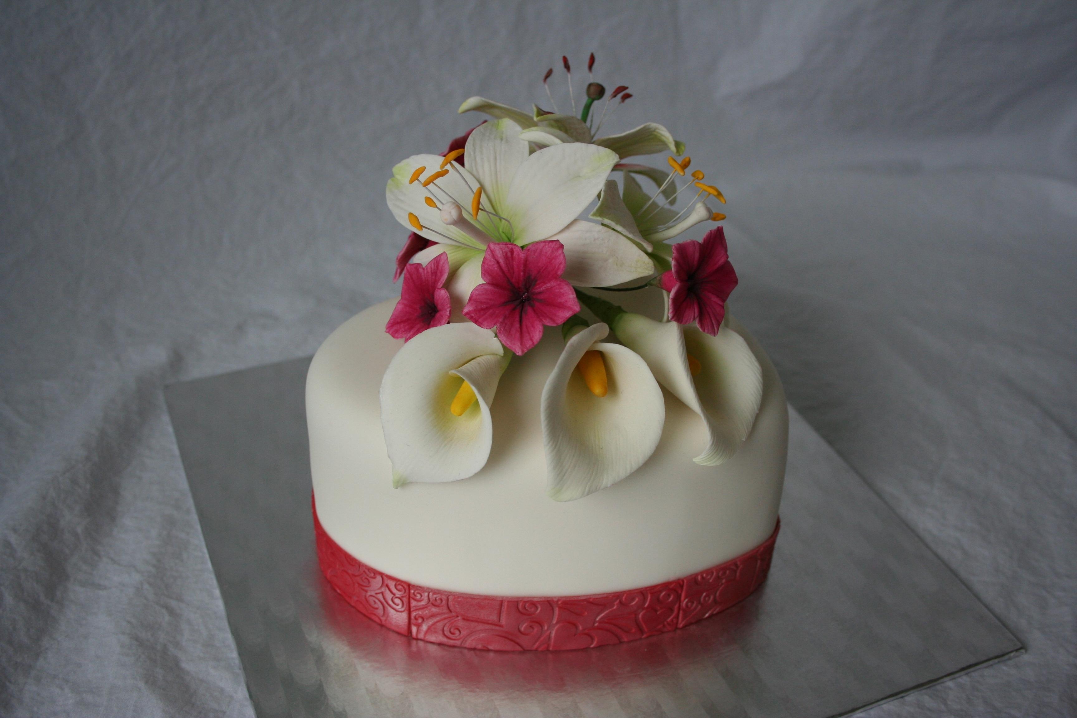 Valentine Cake 10Th Wedding Anniversary Cake