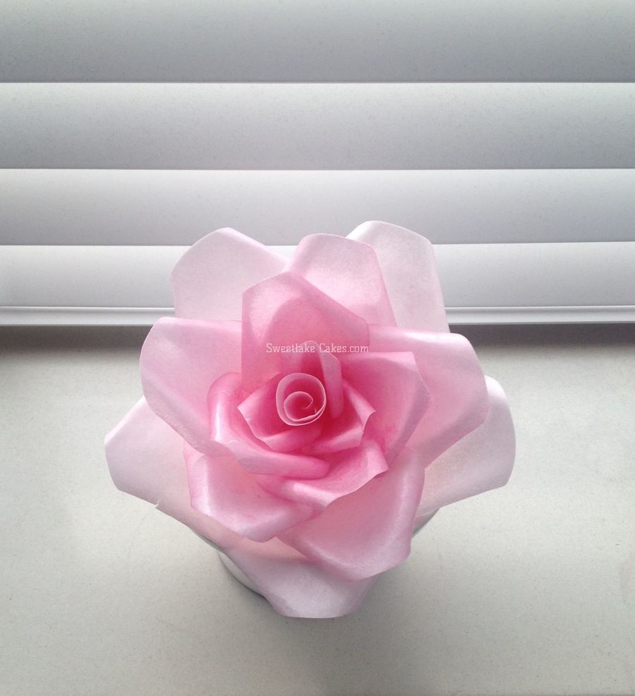 Wafer paper flowers cakecentral mightylinksfo