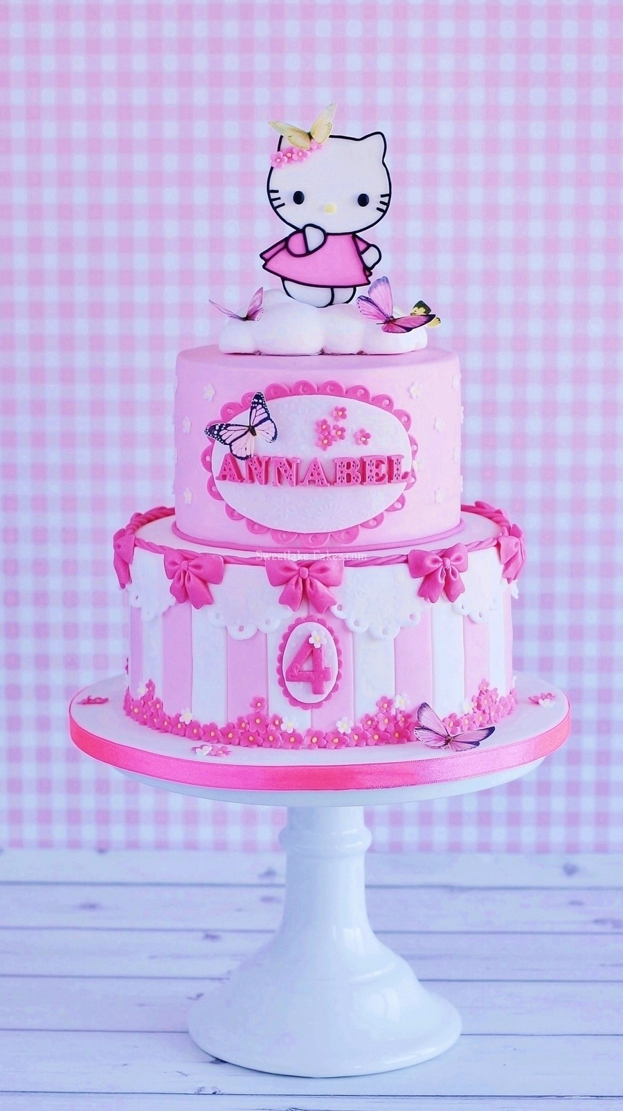 Hello Kitty On Cloud Nine on Cake Central
