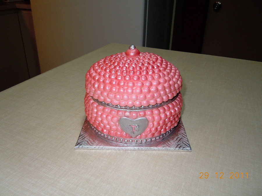 Jewelery Box on Cake Central