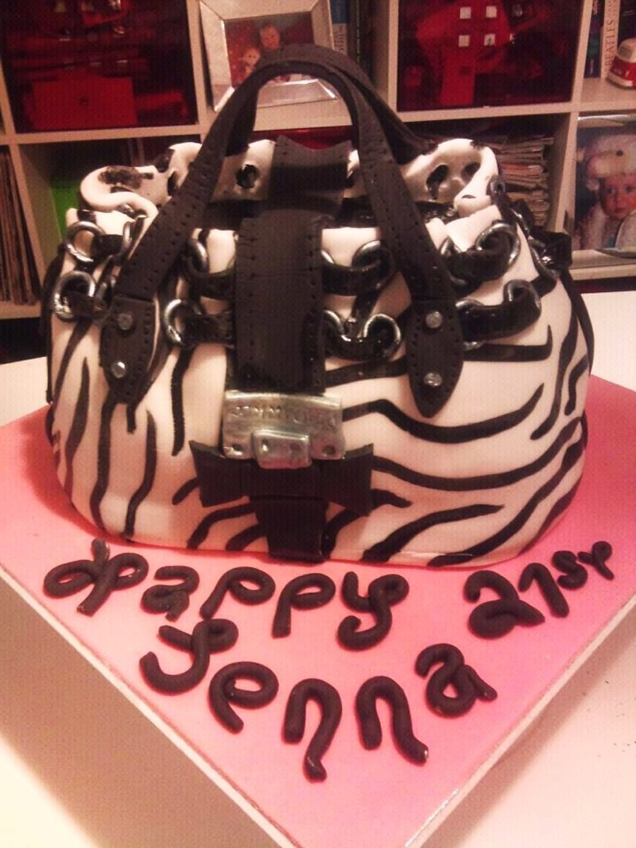 Jimmy Choo Bag on Cake Central