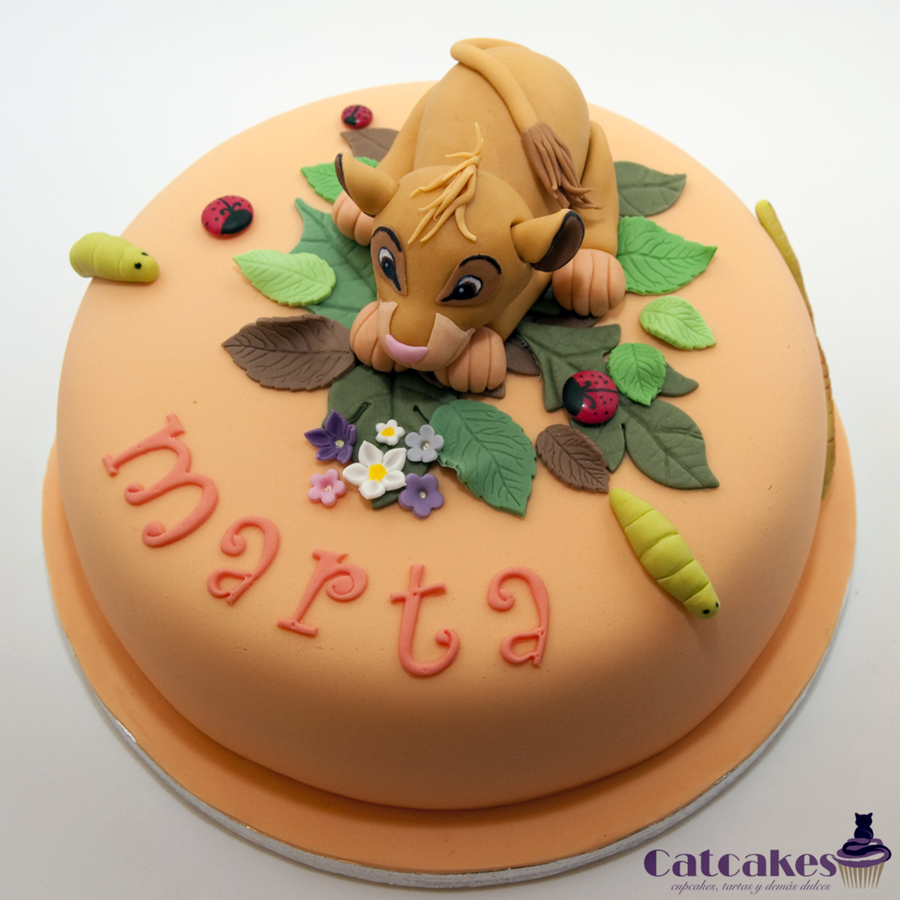 Birthday Cake Images Down : Simba Cake - CakeCentral.com