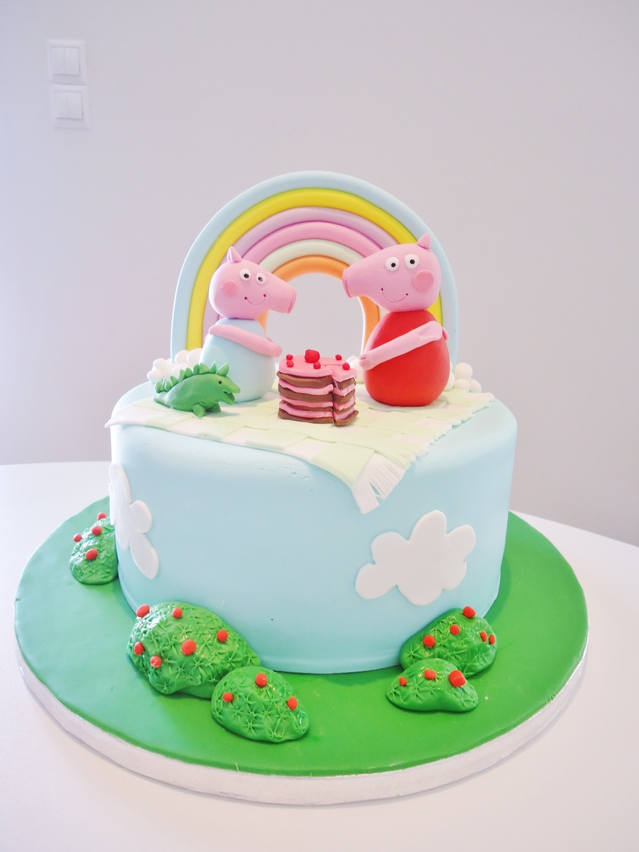 Peppa And George Cake on Cake Central
