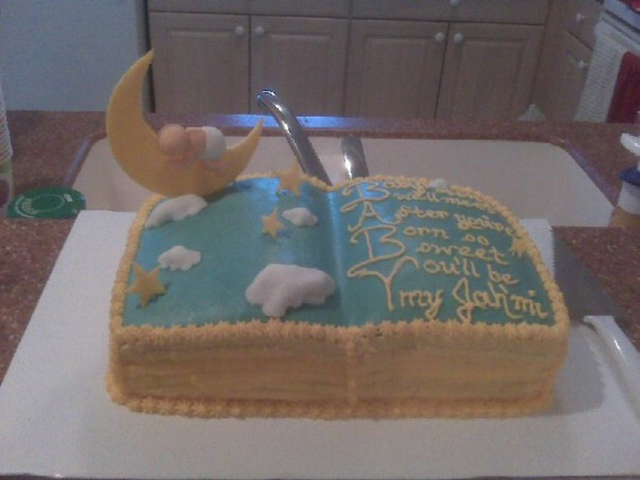 Baby Shower For Baby Book Theme Inspiration Goodnight Moon on Cake Central