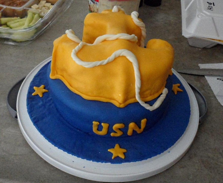 Re Enlistment Cake on Cake Central