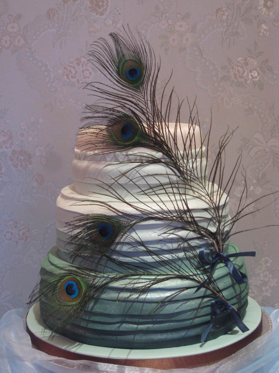 Pea Feathers By Patricia Mann Cake Designs on Cake Central