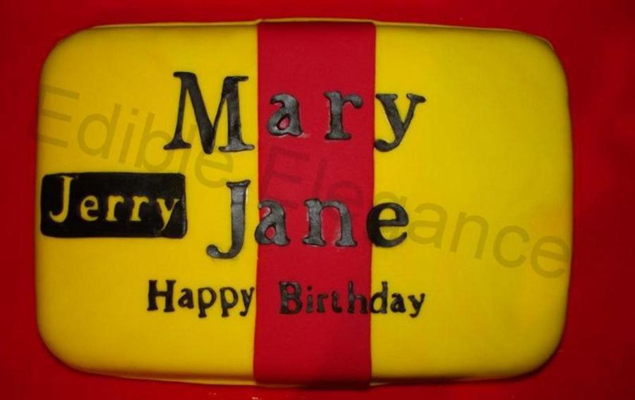Mary Jane  on Cake Central