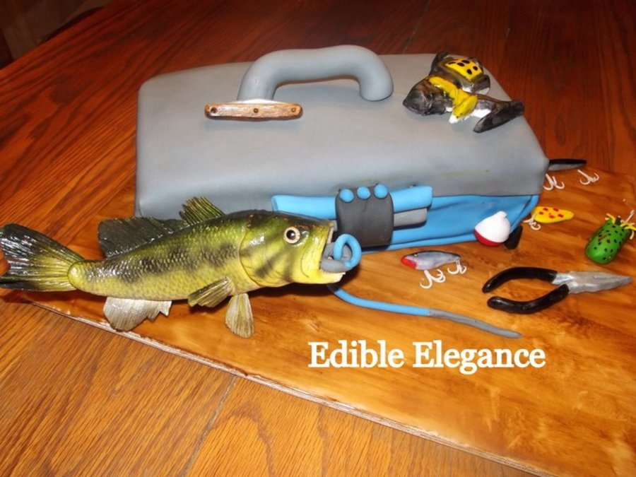 Tackle Box on Cake Central