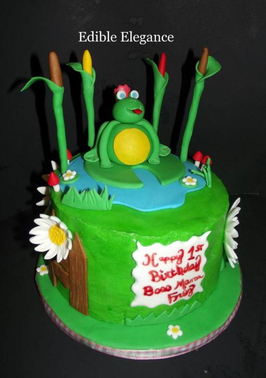 Princess Frog on Cake Central