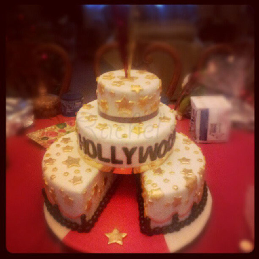 Hollywood (Red Carpet) Cake! on Cake Central