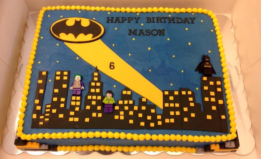 Batman Sheet Cakecentral Com