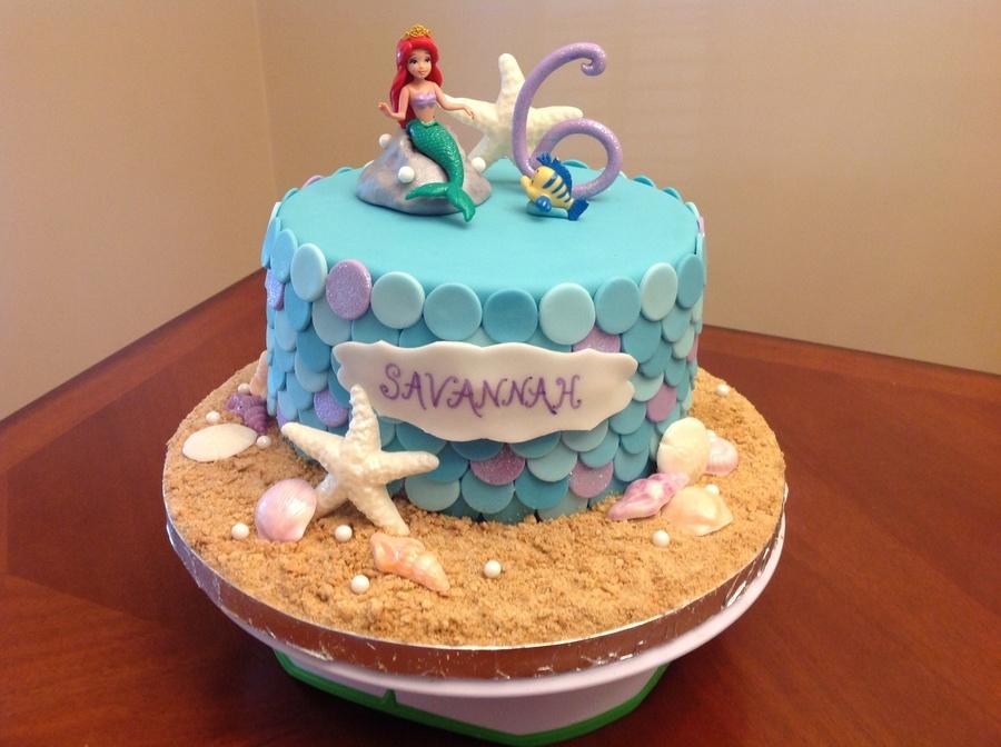 Disney Ariel Cake Ideas