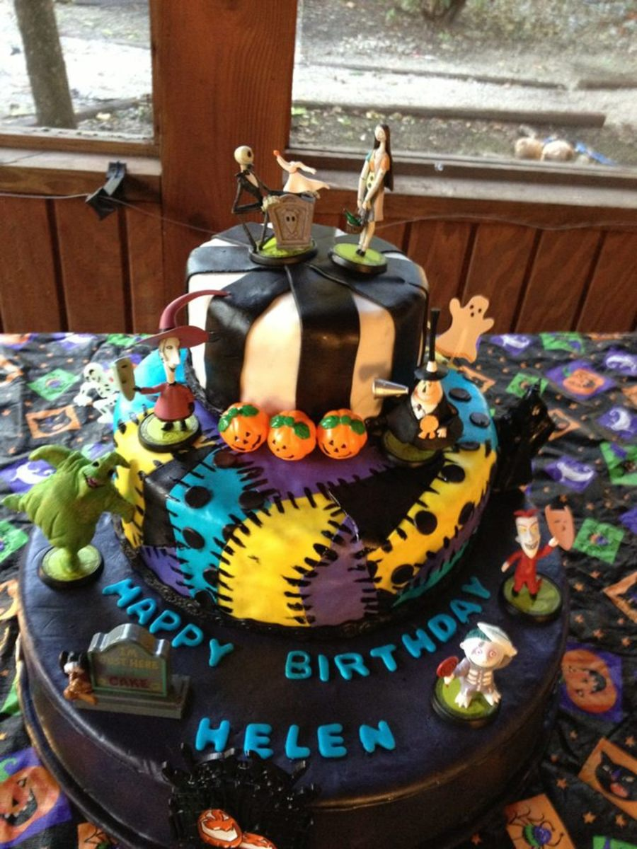 Nightmare Before Christmas  on Cake Central