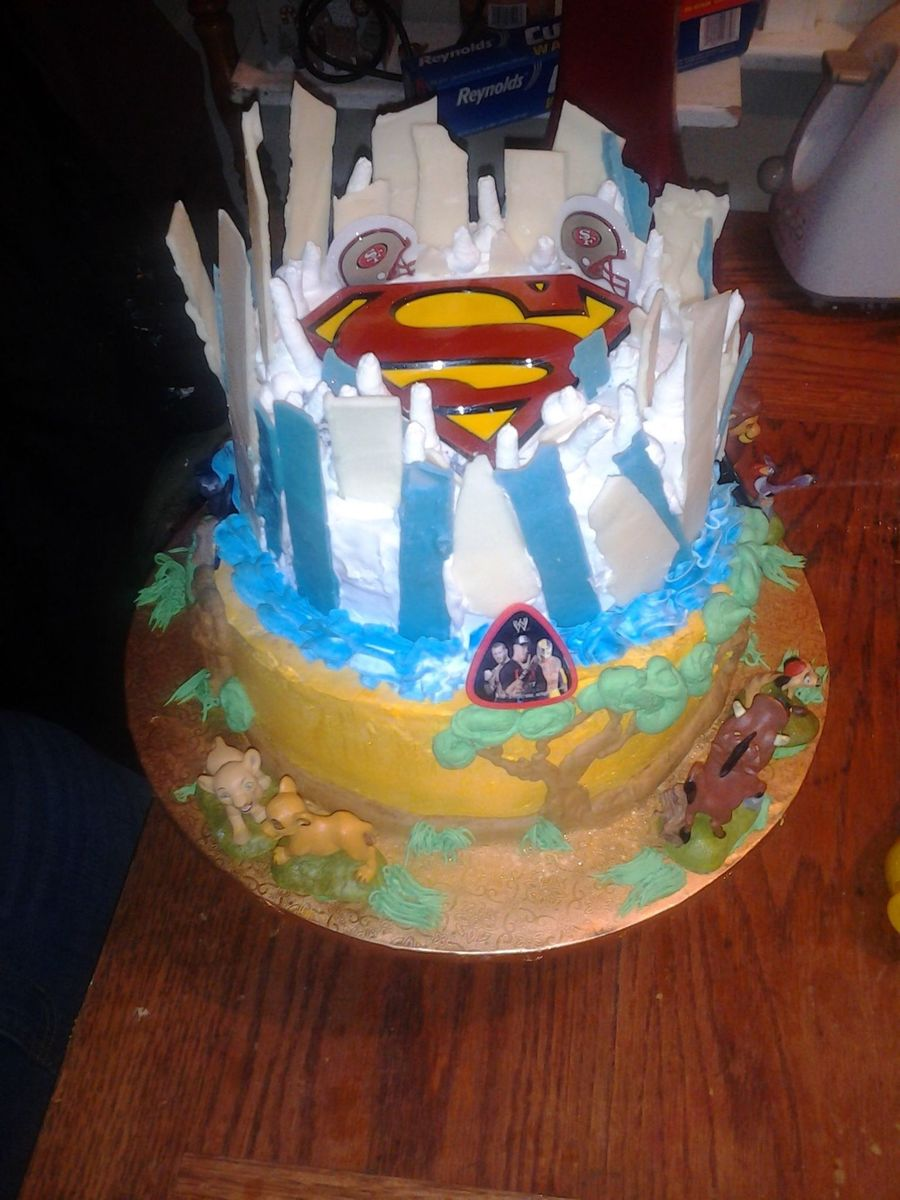 My Bros Birthday Cake on Cake Central