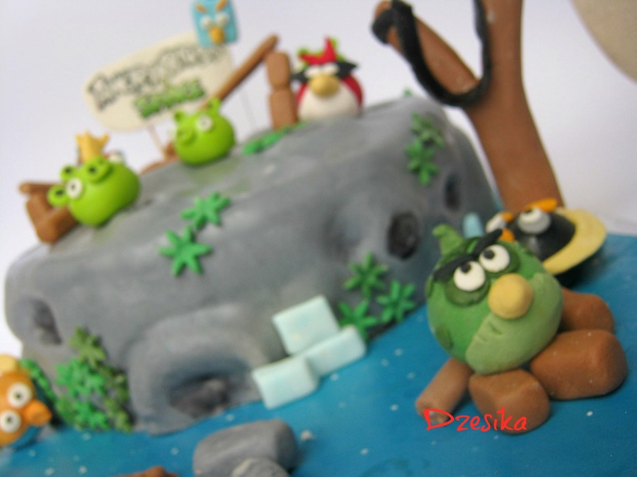 Angry Birds Space Cake on Cake Central