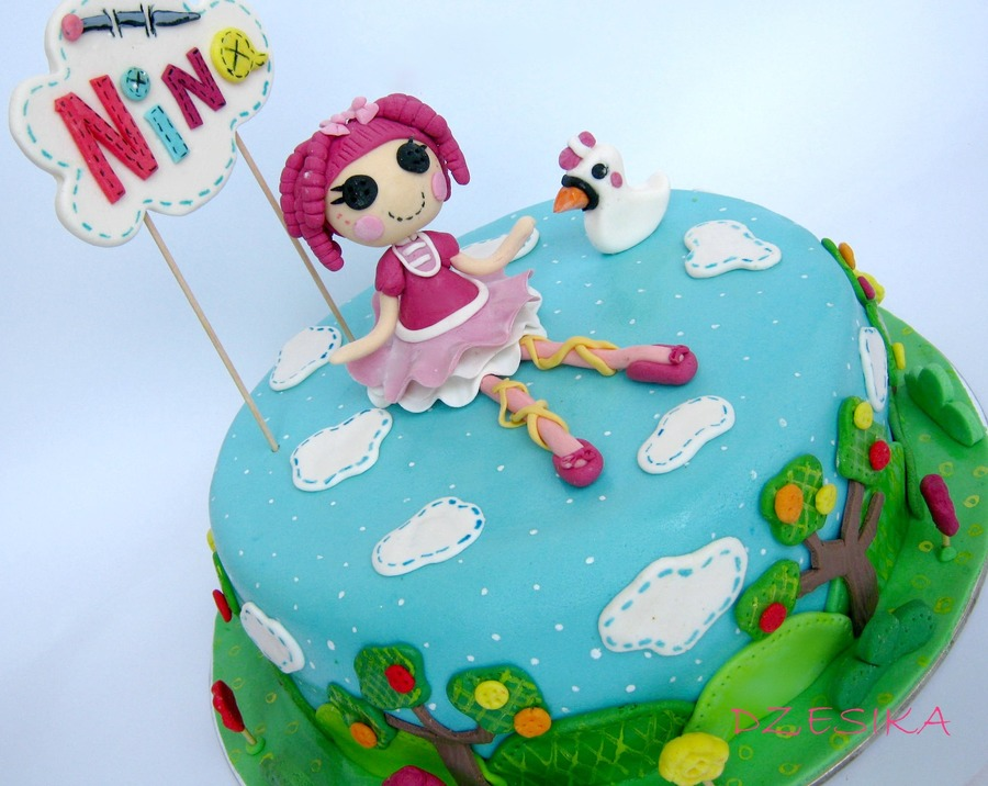 Lalaloopsy Cake on Cake Central