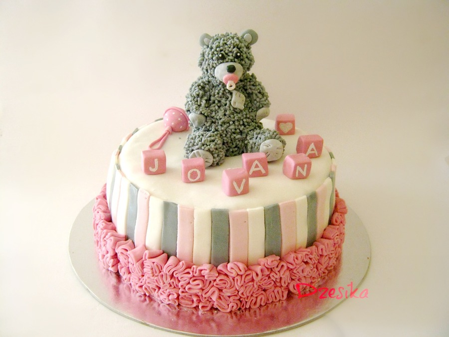 Teddy Bear Cake  on Cake Central
