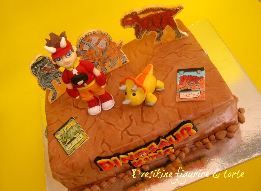 Dinosaur King Cake on Cake Central