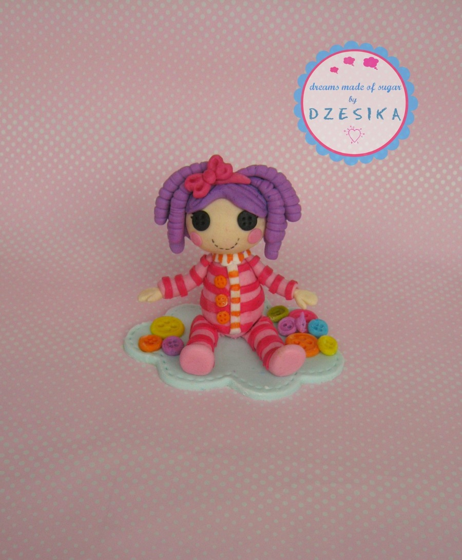 Pillow Lalaloopsy Cake Topper on Cake Central