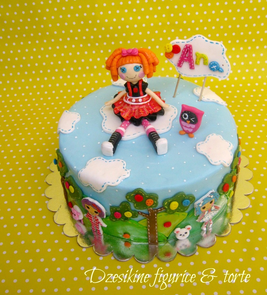Another One Lalaloopsy Cake With Bea Spells A Lot Topper on Cake Central