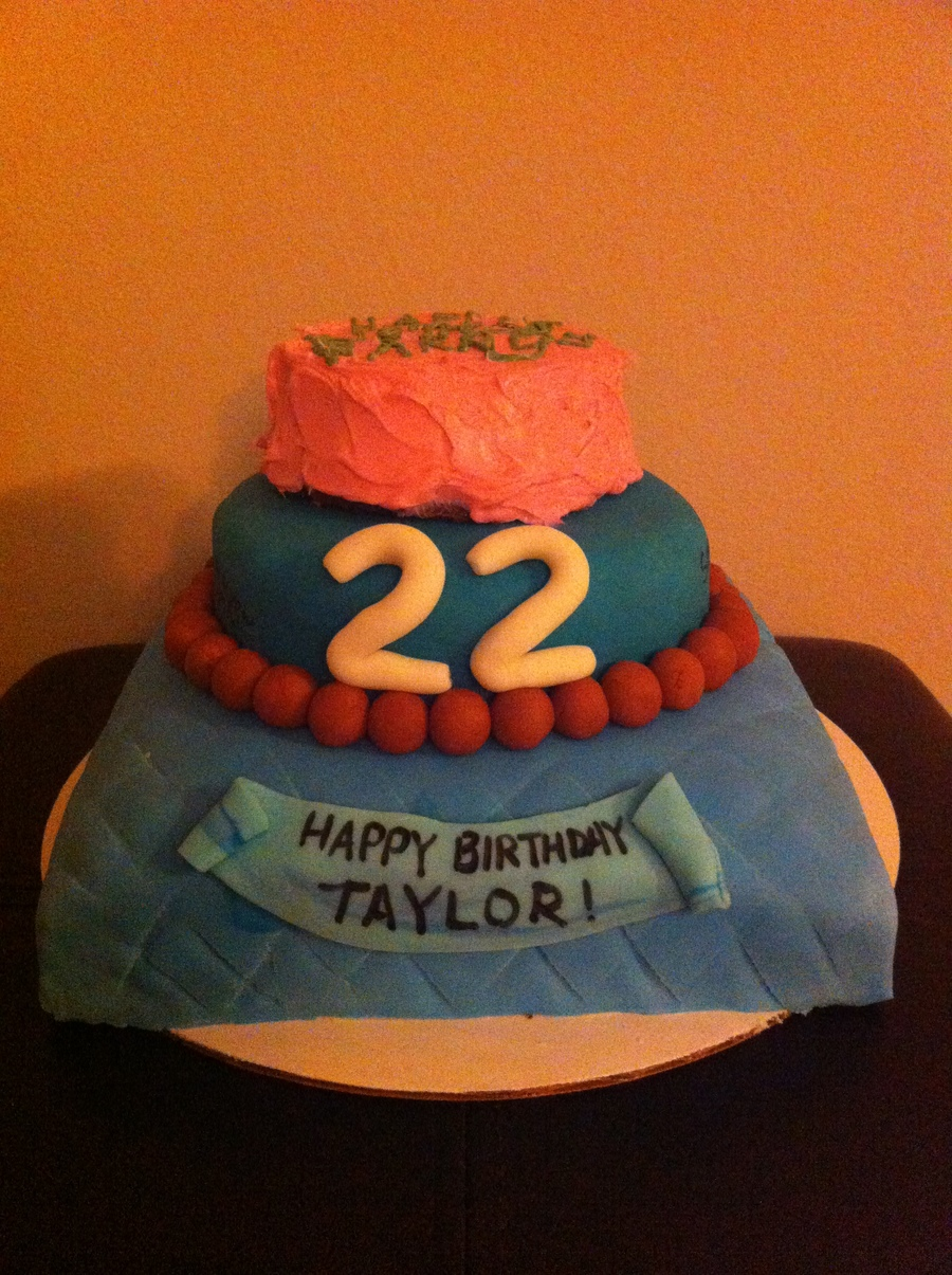 Teenage Mutant Ninja Turtle Cake The Round Cake Is A