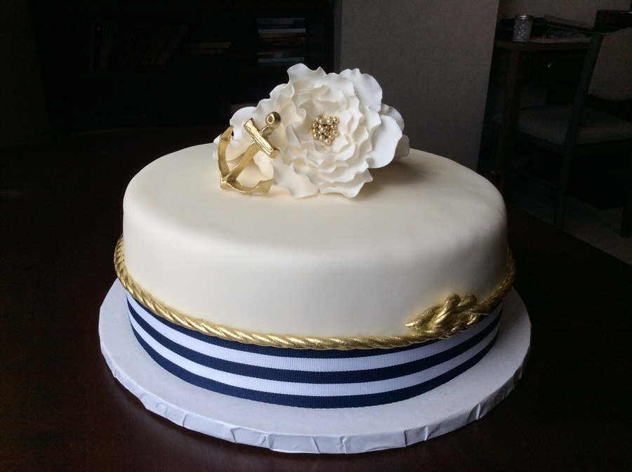 for a nautical themed bridal shower on cake central