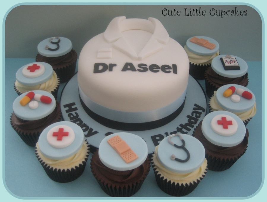 Doctors Birthday Cake  on Cake Central