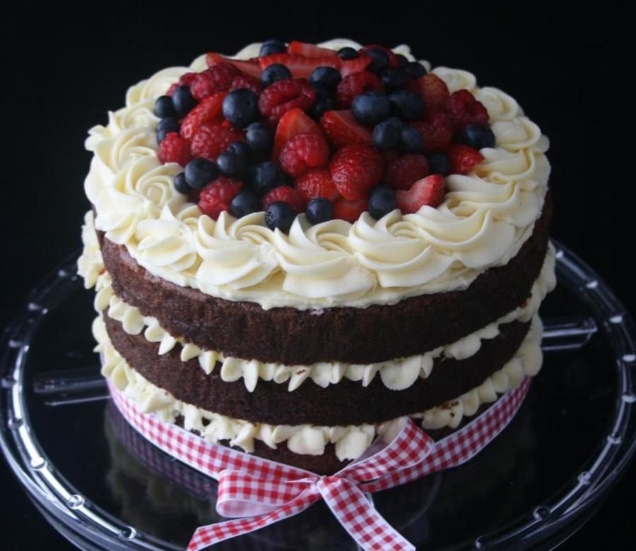 Rustic Red Velvet On Cake Central