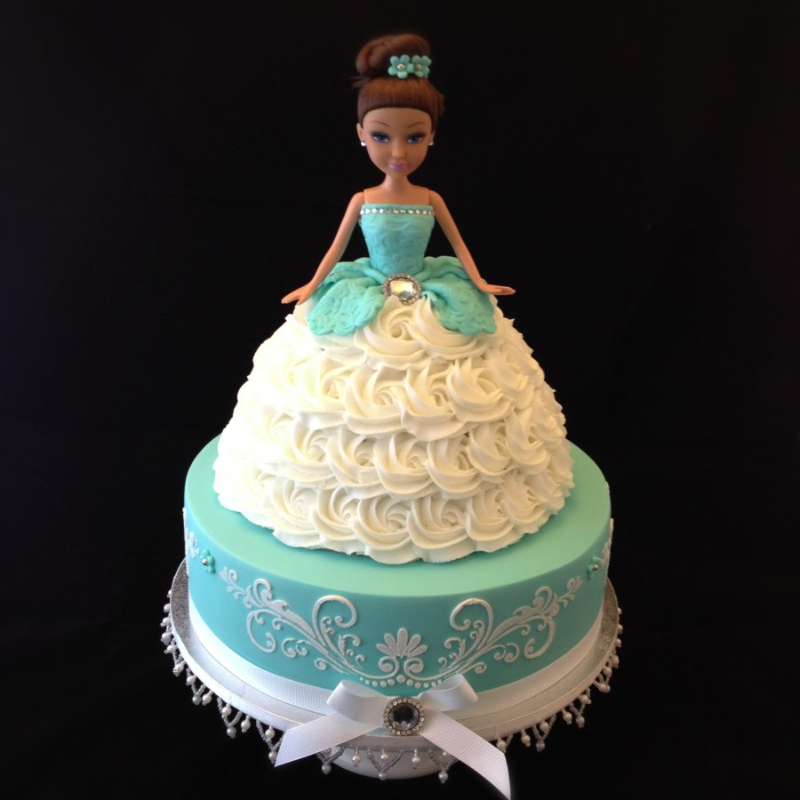 Barbie Doll Birthday Cake Ideas