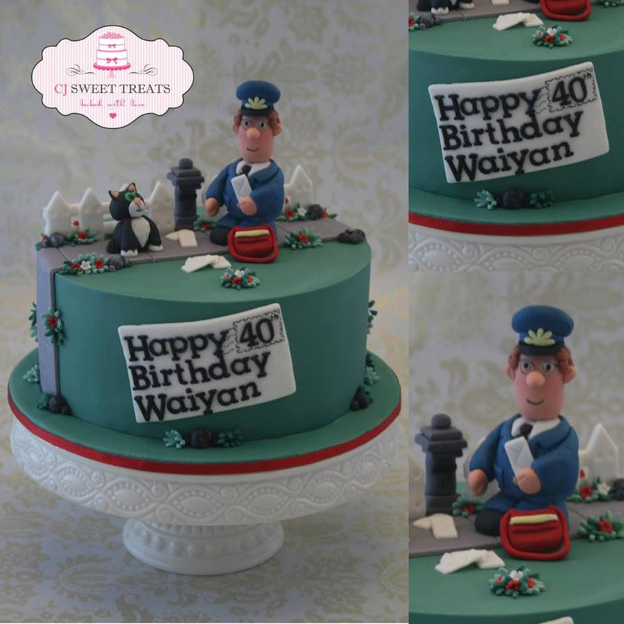Postman Pat on Cake Central